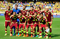 BARRANQUILLA - COLOMBIA -01-09-2016: Seleccion Venezuela. Colombia y Venezuela durante partido de la fecha 7 para la clasificación a la Copa Mundial de la FIFA Rusia 2018 jugado en el estadio Metropolitano Roberto Melendez en Barranquilla./ Colombia and Venezuela during match of the date 7 for the qualifier to FIFA World Cup Russia 2018 played at Metropolitan stadium Roberto Melendez in Barranquilla. Photo: VizzorImage / Alfonso Cervantes / Cont