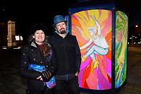 20190813 Hutt Winter Festival -  Light Sculpture