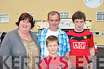 Catherine, Shane O?g, Shane McGaley at the official opening of the Castleisland Community Centre on Sunday