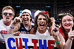 GLENDALE, AZ - APRIL 03:  Gonzaga Bulldogs fans cheer prior to tip-off during the 2017 NCAA Men's Final Four National Championship game at University of Phoenix Stadium on April 3, 2017 in Glendale, Arizona.  (Photo by Brett Wilhelm/NCAA Photos via Getty Images)