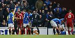05.12.2018 Rangers v Aberdeen: Sam Cosgrove sent off