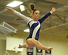 Meghan Maquet of Long Beach performs on the balance beam during the Nassau County varsity gymnastics individual championships and state qualifiers at Hicksville High School on Tuesday, Feb. 9, 2016.