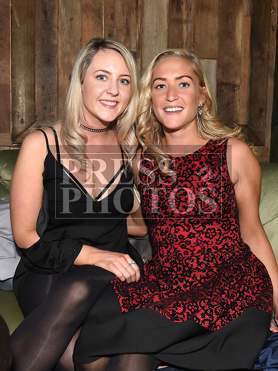 Niamh Reynolds and Lizzie Maguire enjoying the New year weekend in Bitter & Twisted. Photo:Colin Bell/pressphotos.ie