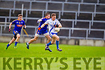 Denis Daly Saint Marys in action against Gavin McGowan Ratoath in the Semi Final of the Intermediate Club Championship at the Gaelic Grounds in Limerick on Sunday.
