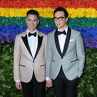 09 June 2019 - New York, NY - Todd Spiewak and Jim Parsons. 73rd Annual Tony Awards 2019 held at Radio City Music Hall in Rockefeller Center. Photo Credit: LJ Fotos/AdMedia