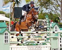 HH Carotino ridden by Quentin Judge,  USEF trials#2 Wellington Florida. 3-22-2012