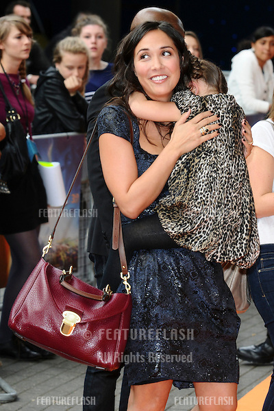 """Myleene Klass and daughter, Ava arrives for the premiere of """"The Lion King 3D"""" at the bfi IMAX cinema, London..25/09/2011  Picture by Steve Vas/Featureflash"""