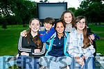 At the Kerry Film Festival's Open Air Cinema screening of Sing Street on Friday night wereKatie Quilter, Ciara Sookary, Megan O'Sullivan, Daragh O'Brien and Niamh Moloney