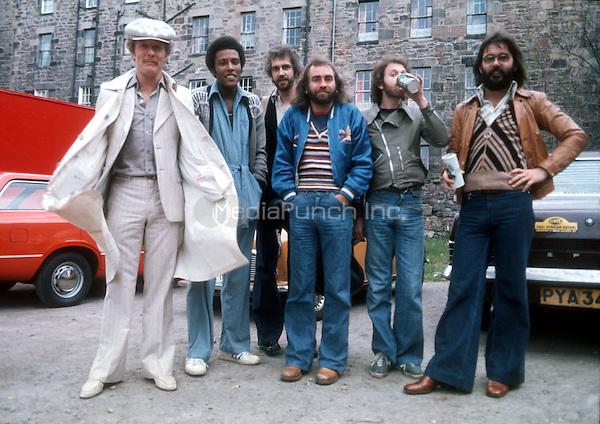 Edinburgh, Scotland 1975<br />(Steve Ferrone's debut gig) . Credit: Ian Dickson/MediaPunch