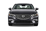 Car photography straight front view of a 2016 Mazda 6 i Grand Touring Auto 4 Door Sedan