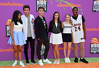 Cast of I Am Frankie at Nickelodeon's Kids' Choice Sports 2017 at UCLA's Pauley Pavilion. Los Angeles, USA 13 July  2017<br /> Picture: Paul Smith/Featureflash/SilverHub 0208 004 5359 sales@silverhubmedia.com