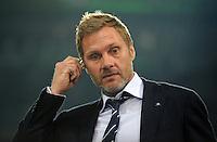 FUSSBALL   1. BUNDESLIGA   SAISON 2011/2012   27. SPIELTAG VfL Wolfsburg - Hamburger SV         23.03.2012 Trainer Thorsten Fink (Hamburger SV)