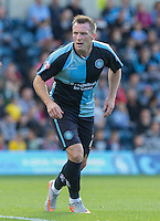 Garry Thompson of Wycombe Wanderers during the Sky Bet League 2 match between Wycombe Wanderers and Plymouth Argyle at Adams Park, High Wycombe, England on 12 September 2015. Photo by Andy Rowland.