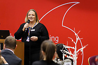 Pictured: Rebecca Symmons. Thursday 05 December 2019<br /> Re: CBN networking event at the Liberty Stadium, Swansea, Wales, UK.