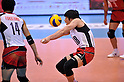Yuta Yoneyama (JPN),.JUNE 2, 2012 - Volleyball : FIVB the Men's World Olympic Qualification Tournament for the London Olympics 2012, between Japan 3-0 Venezuela at Tokyo Metropolitan Gymnasium, Tokyo, Japan. (Photo by Jun Tsukida/AFLO SPORT) [0003].