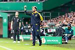 10.08.2019, wohninvest WESERSTADION, Bremen, GER, DFB-Pokal, 1. Runde, SV Atlas Delmenhorst vs SV Werder Bremen<br /> <br /> im Bild<br /> Key Riebau (Trainer / Cheftrainer SV Atlas Delmenhorst) in Coachingzone / an Seitenlinie, <br /> <br /> während DFB-Pokal Spiel zwischen SV Atlas Delmenhorst und SV Werder Bremen im wohninvest WESERSTADION, <br /> <br /> Foto © nordphoto / Ewert