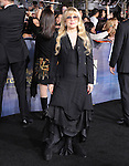 Stevie Nicks attends The world premiere of Summit Entertainment's THE TWILIGHT SAGA: BREAKING DAWN -PART 2 held at  Nokia Theater at L.A. Live in Los Angeles, California on November 12,2012                                                                               © 2012 DVS / Hollywood Press Agency