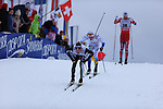 Roland Clara during the FIS Ski World Cup Men' 15 Km Individual Classic, on February 1, 2014 in Dobbiaco, Toblach. <br /> <br /> &copy; Pierre Teyssot
