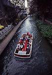 Boat on San Antonio River, Riverwalk