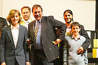 The Pisano family pocketing the Uruguay Cata d'Or prize medals Catad'Or of Uruguay, Montevideo, Uruguay, South America Bodega Pisano Winery, Progreso, Uruguay, South America