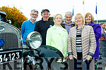 L-R Tony Dermody, James Looney, Mary&John O'Callaghan, Shelia looney&Kay Dremody at the Kingdom Veteran, Vintage&Classic Car Club Annual Autumn run based in the Kenmare Bay Hotel last Saturday.
