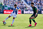 Aitor Ruibal of CD Leganes during La Liga match between CD Leganes and Real Betis Balompie at Butarque Stadium in Leganes, Spain. February 16, 2020. (ALTERPHOTOS/A. Perez Meca)