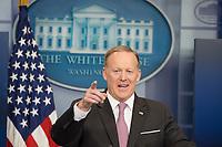 JUL 21 Sean Spicer resigns as Donald Trump's White House Press Secretary
