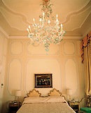 ITALY, Venice, empty bedroom of Gritti Palace Hotel