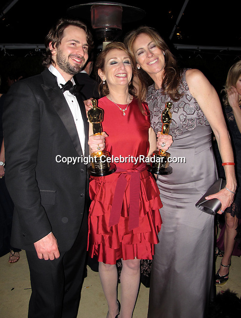 **EXCLUSIVE**.Kathryn Bigelow and Mark Boal..Vanity Fair Oscar Party..Sunset Tower Hotel..Hollywood, CA, USA..Sunday, March 07, 2010..Photo By CelebrityRadar.com.To license this image please call (212) 410 5354; or Email: CelebrityRadar10@gmail.com ; .website: www.CelebrityRadar.com.