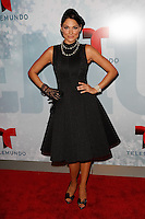 New York, NY -  May 13 :  Bianca Soto attends Telemundo's 2014 Upfront in New York<br /> held at Jazz at Lincoln Center's Frederick P. Rose Hall<br /> on May 13, 2014 in New York City. Photo by Brent N. Clarke / Starlitepics