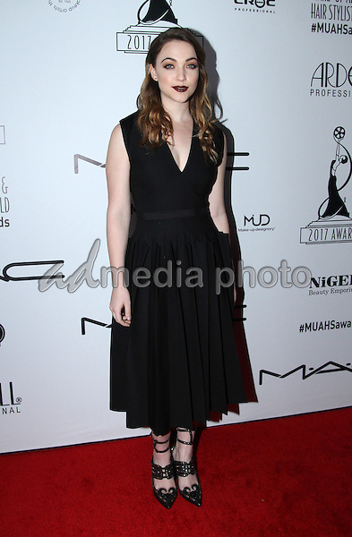 19 February 2017 - Los Angeles, California - Violett Beane<br /> <br /> .2017 Make-Up Artist &amp; Hair Stylists Guild (MUAHS) Awards held at The Novo. Photo Credit: AdMedia