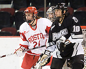 Melissa Anderson (BU - 24), Jennifer Friedman (Providence - 10) - The Boston University Terriers defeated the Providence College Friars 5-3 on Saturday, November 14, 2009, at Agganis Arena in Boston, Massachusetts.