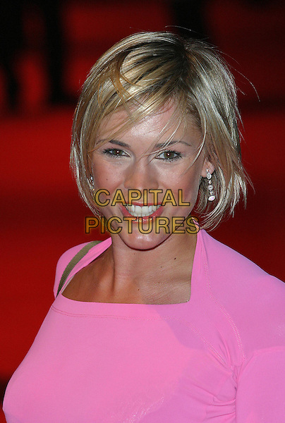 JENNI FALCONER.Daily Mirror Pride Of Britain Awards, London Hilton Hotel, Park Lane.15th March 2004.headshot, portrait.www.capitalpictures.com.sales@capitalpictures.com.©Capital Pictures