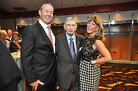 Houston Astros Blue Star Gala honoring Announcer Milo Hamilton with special guests including Hank Aaron