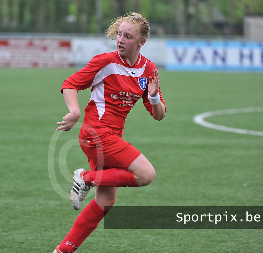 AA Gent Ladies U16 - RSC Anderlecht : Emma Vantornout.foto DAVID CATRY / Nikonpro.be