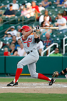 Peter Bourjos - Arkansas Travelers.2009 Texas League All-Star game held at Dr. Pepper Ballpark, Frisco, TX - 07/01/2009. The game was won by the North Division, 2-1..Photo by:  Bill Mitchell/Four Seam Images