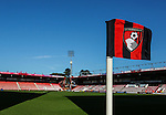 Bournemouth's corner flag during the Premier League match at the Vitality Stadium, London. Picture date December 4th, 2016 Pic David Klein/Sportimage