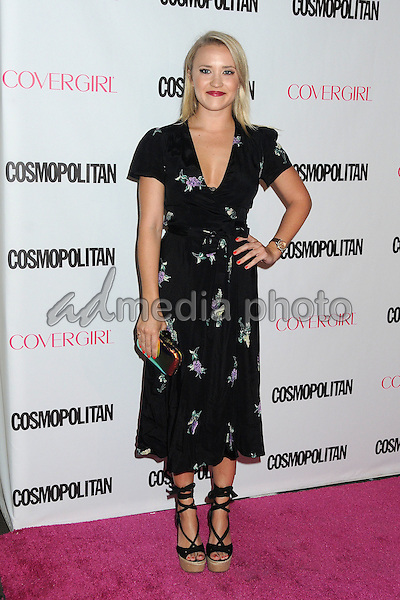 12 October 2015 - Hollywood, California - Emily Osment. Cosmopolitan 50th Birthday Celebration held at Ysabel. Photo Credit: Byron Purvis/AdMedia
