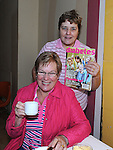 Sarah Stokes and Breda McShane pictures at the tea for diabetes day in Ardee. Photo: Colin Bell/pressphotos.ie