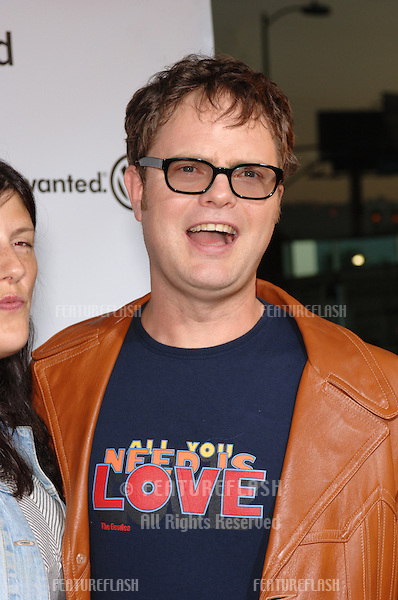 Actor RAINN WILSON at the world premiere of 40 Year-Old Virgin, at the Arclight Theatre, Hollywood..August 11, 2005  Los Angeles, CA.© 2005 Paul Smith / Featureflash