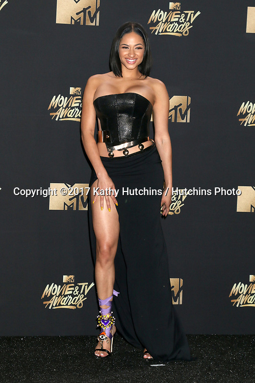 LOS ANGELES - MAY 7:  Tori Brixx at the MTV Movie and Television Awards on the Shrine Auditorium on May 7, 2017 in Los Angeles, CA
