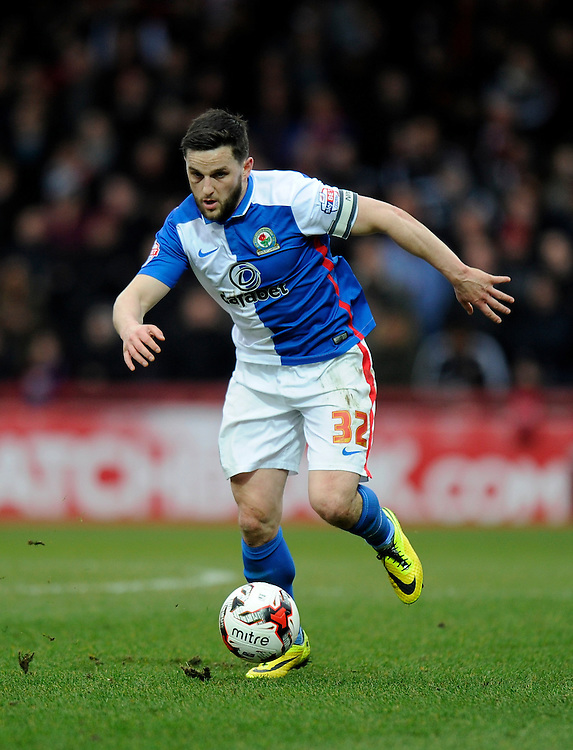 Blackburn Rovers' Craig Conway<br /> <br /> Photographer Ashley Western/CameraSport<br /> <br /> Football - The Football League Sky Bet Championship - Brentford v Blackburn Rovers - Saturday 19th March 2016 - Griffin Park - London <br /> <br /> &copy; CameraSport - 43 Linden Ave. Countesthorpe. Leicester. England. LE8 5PG - Tel: +44 (0) 116 277 4147 - admin@camerasport.com - www.camerasport.com