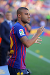 53e Trofeu Joan Gamper.<br /> Presentation 1st team FC Barcelona.<br /> Rafinha.