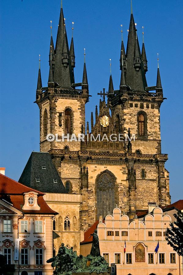 Catedral Nossa Senhora de Tyn. Praga. Republica Tcheca. 2008. Foto de Cris Berger.