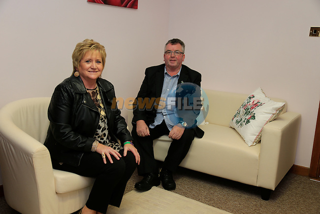 Margaret and christy carolan At the Opening of the new SOSAD office in Magdaline street.<br /> Picture: Fran Caffrey www.newsfile.ie