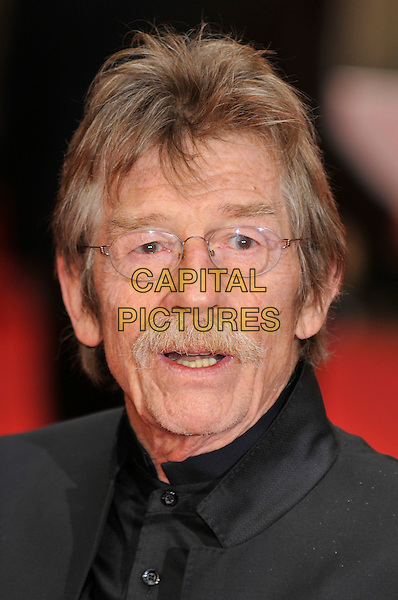 JOHN HURT .Red Carpet Arrivals for the British Academy Television Awards 2008, held at the London Palladium, London, England, April 20th 2008. .BAFTA BAFTA's portrait headshot glasses moustache.CAP/PL.©Phil Loftus/Capital Pictures