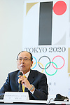 Sadaharu Oh,  AUGUST 7, 2015 :  World Baseball Softball Confederation (WBSC)  holds a media conference following its interview  with the Tokyo 2020 Organising Committee in Tokyo Japan.  (Photo by YUTAKA/AFLO SPORT)