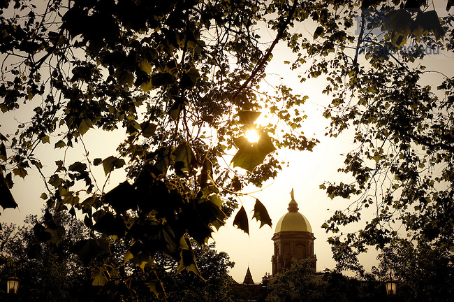 June 3, 2011; Dome in late afternoon..Photo by Matt Cashore/University of Notre Dame