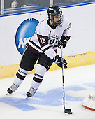 John Simpson (Union - 23) - The University of Minnesota-Duluth Bulldogs defeated the Union College Dutchmen 2-0 in their NCAA East Regional Semi-Final on Friday, March 25, 2011, at Webster Bank Arena at Harbor Yard in Bridgeport, Connecticut.