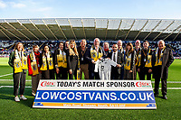 during the Sky Bet Championship match between Swansea City and Cardiff City at the Liberty Stadium in Swansea, Wales, UK. Sunday 27 October 2019